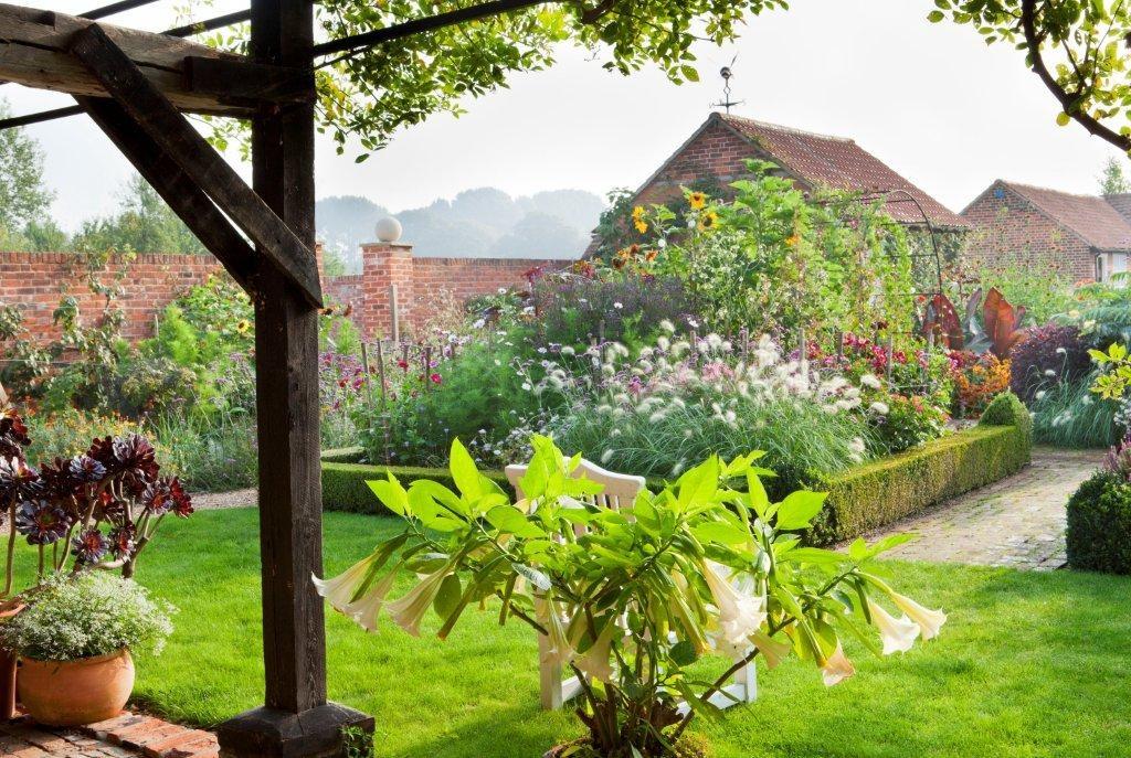 high summer at Ulting Wick Garden